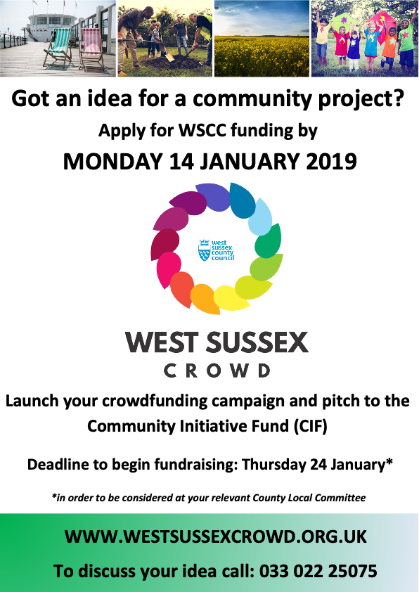 Community Initiative Funding Round 3 poster